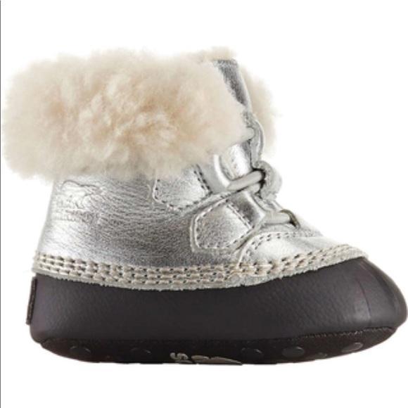 Sorel Shoes | Sorel Metallic Infant